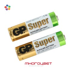 Батарейка GP Super Alkaline AA 2 штуки