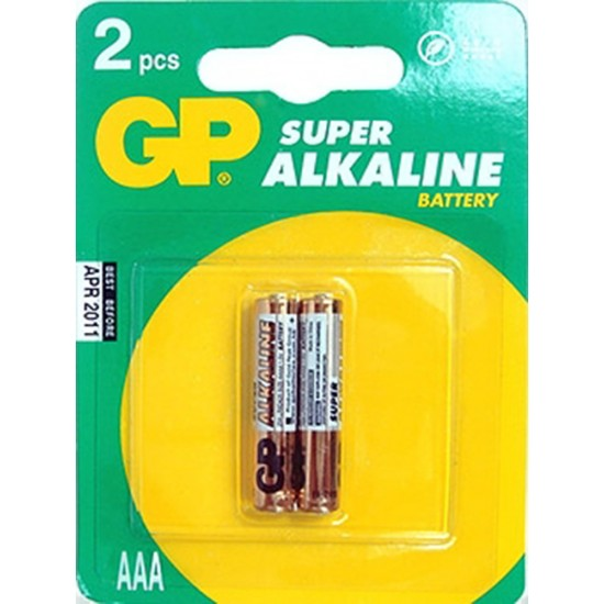 Батарейка GP Super Alkaline AAA (LR03)