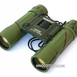 Бинокль Tasco 10x25 зеленый