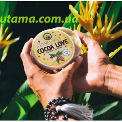 Натуральный увлажняющий крем масло для лица Cocoa Love (Индонезия о.Бали)
