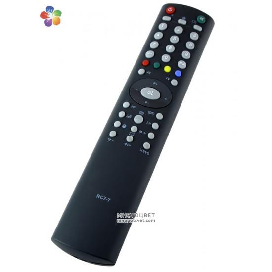 Пульт ДУ для телевизора HORIZONT RC 7-7