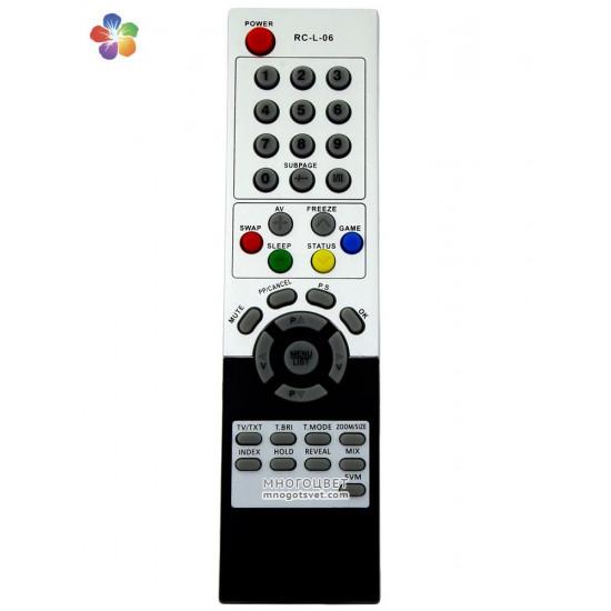 Пульт ДУ для телевизора HORIZONT (RC-L-06)