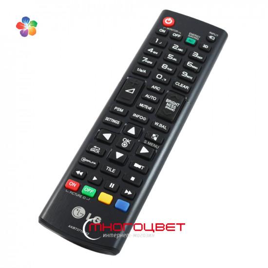 Оригинальный пульт ДУ для LED телевизора LG AKB73715642