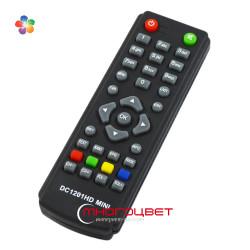Пульт ДУ DC1201HD mini для цифровых тюнеров DVB-T2 фирмы D-Color