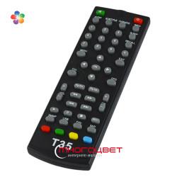 Пульт ДУ для тюнера DVB-T2 WORLD VISION T35, T55, T55D