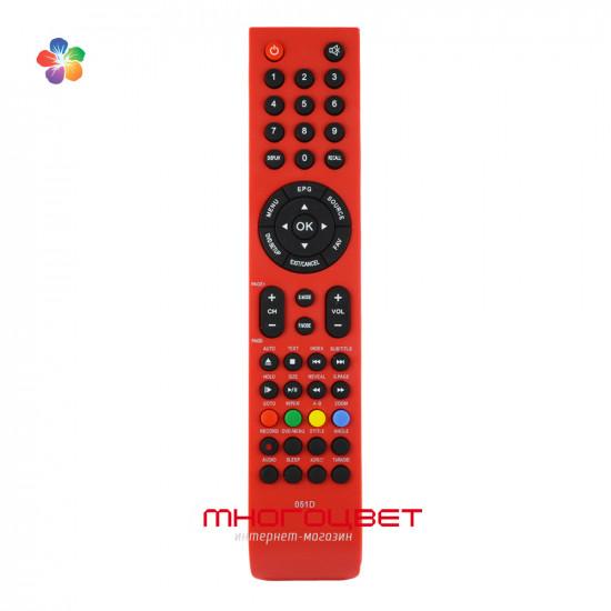 Пульт ДУ Shivaki 051D красный для телевизора Shivaki STV-22LEDG9