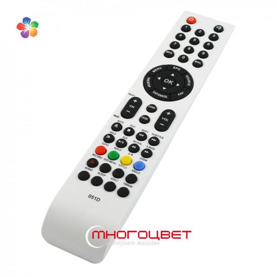 Пульт ДУ Shivaki 051D белый для телевизора Shivaki STV-22LEDG9