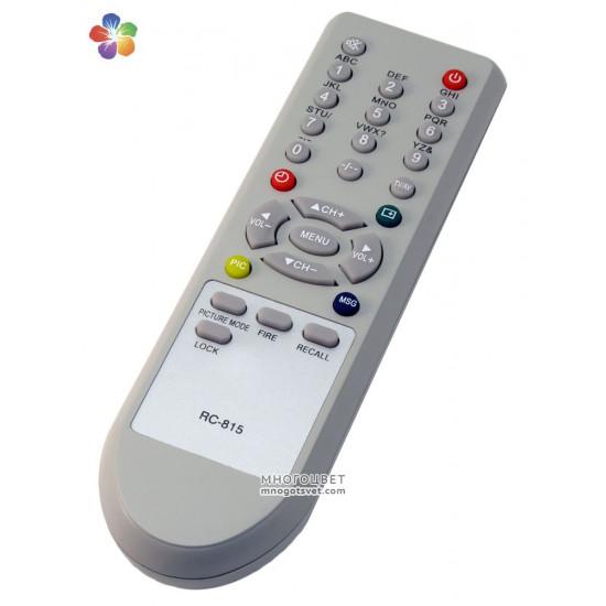 Пульт ДУ для телевизора Shivaki (RC-815)