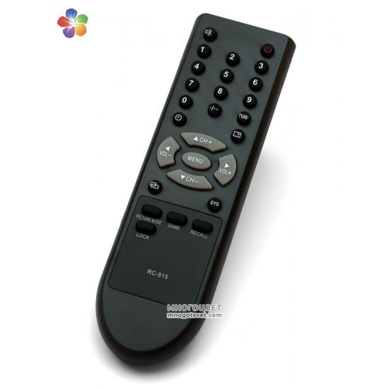 Пульт ДУ RC-915 для телевизоров Shivaki