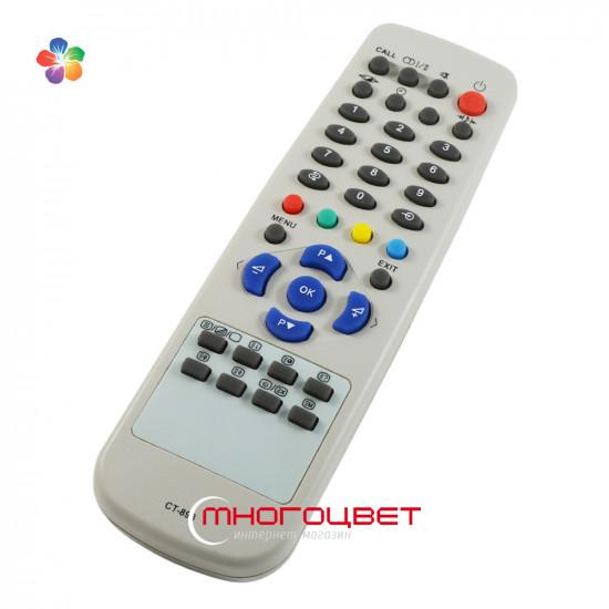 Пульт ДУ CT-893 для телевизора Toshiba 23WL55R