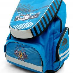 Рюкзак ортопедический Tiger 1728-4 гонки - синий