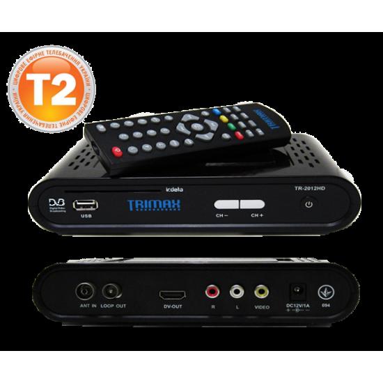 Пульт ДУ для тюнера DVB-T2 Trimax TR-2012HD